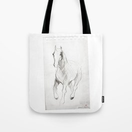 Horse (Notebook) Tote Bag