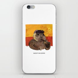 Vincent van Gopher iPhone Skin