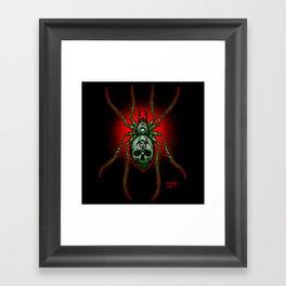 Arachnazrael Framed Art Print