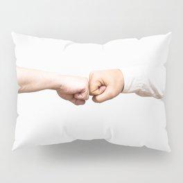Fist Bumb Greeting Motivation Business High Five Pillow Sham