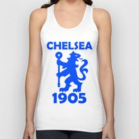 chelsea Tank Tops featuring Chelsea 1905 by Sport_Designs