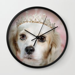 Lady Beatrice Wall Clock