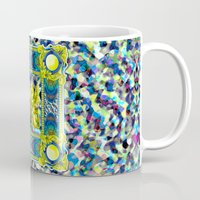 baroque Mugs featuring Rock Baroque by FakeFred