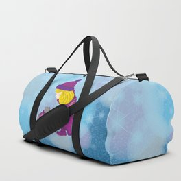 Lara with cat - Christmas Duffle Bag