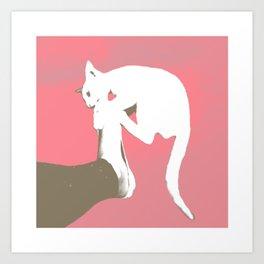 Cattack Art Print