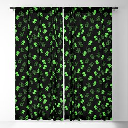Aliens-Green Blackout Curtain