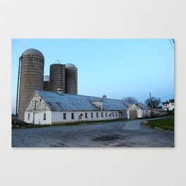 Silent Barn Canvas Print