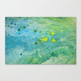 The beach series Canvas Print