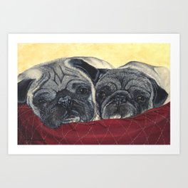 Charley and Ernie Art Print