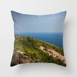 The Climb Throw Pillow