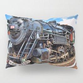 Steam Train Pillow Sham