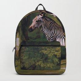 Zebra - George Stubbs Backpack