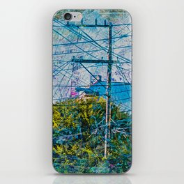 Linked out Victorians in Mission District sfc iPhone Skin