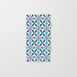 symetric patterns 54 -mandala,geometric,rosace,harmony,star,symmetry Hand & Bath Towel