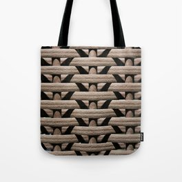 Background wicker rods Tote Bag