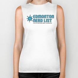 Edmonton Nerd List (Colour on light) Biker Tank