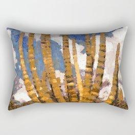 Desert Cactus Fine Art Rectangular Pillow