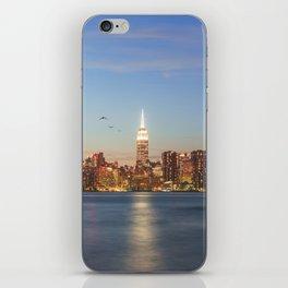 New York City Blues iPhone Skin