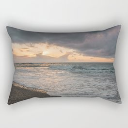 Those sunsets that wish you hope.. Rectangular Pillow