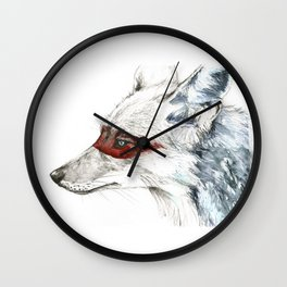 Coyote I Wall Clock