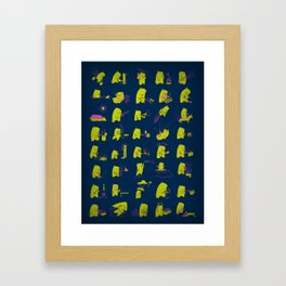 Grizzly Adventures Framed Art Print