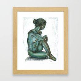Female figure #2 Framed Art Print