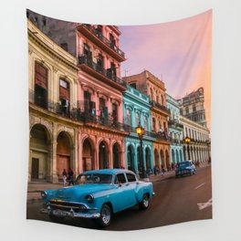 Colorful Havana Wall Tapestry