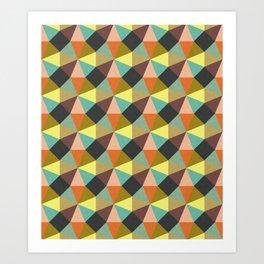 Simply Symmetry Art Print