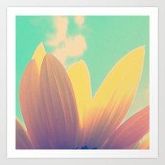 FLOWER 040 Art Print