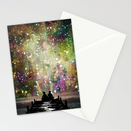The Universe Was Ours Stationery Cards