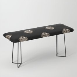 Simulated illuminated diamond pattern Bench