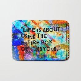 Crayon Box 2 Bath Mat