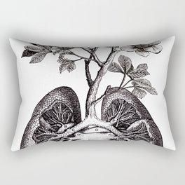 Flourishing Lungs Rectangular Pillow
