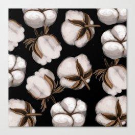 Cotton flower Canvas Print
