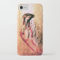 flamingo iPhone & iPod Cases featuring Flamingo by Fernando Vieira