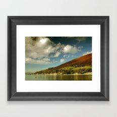 Loch Ranza Framed Art Print
