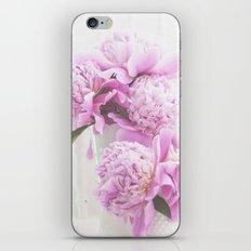 Peonies In Pink iPhone & iPod Skin