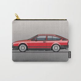Alfa Romeo GTV6 Red Carry-All Pouch