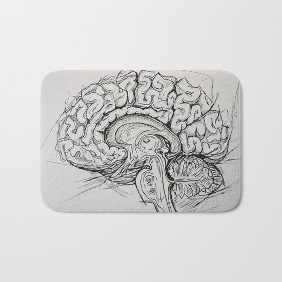 Brain Bath Mat