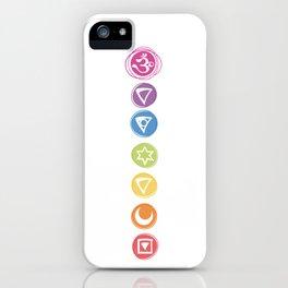 Seven Chakras iPhone Case
