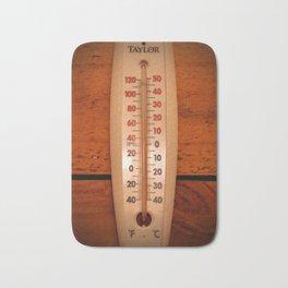Wall Thermometer Bath Mat