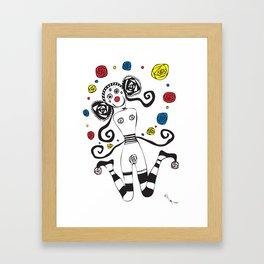 Palhacinha Framed Art Print