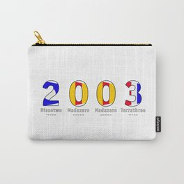 2003 - NAVY - My Year of Birth Carry-All Pouch