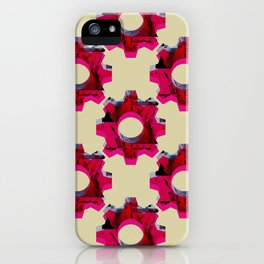 IMPROBABLE GREASE REEL pat. iPhone Case