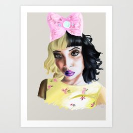 Melanie Martinez  Art Print