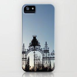 Nature, landscape and twilight 1 iPhone Case