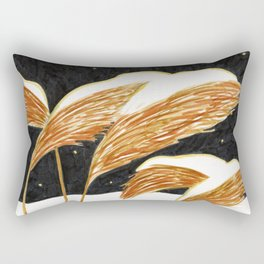 Clear Night brush pen illustration by Amanda Laurel Atkins Rectangular Pillow