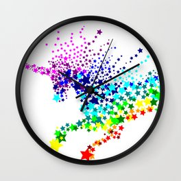 Unicorn - Licorne - Unicornio - Einhorn 02 Wall Clock