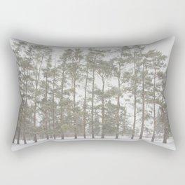 Natural Symmetry Rectangular Pillow