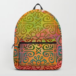 DP050-6 Colorful Moroccan pattern Backpack